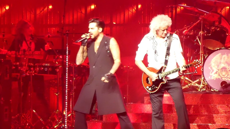 Q ueen Adam Lambert - A nother One B ites The Dust - P ark Theater LV 091518