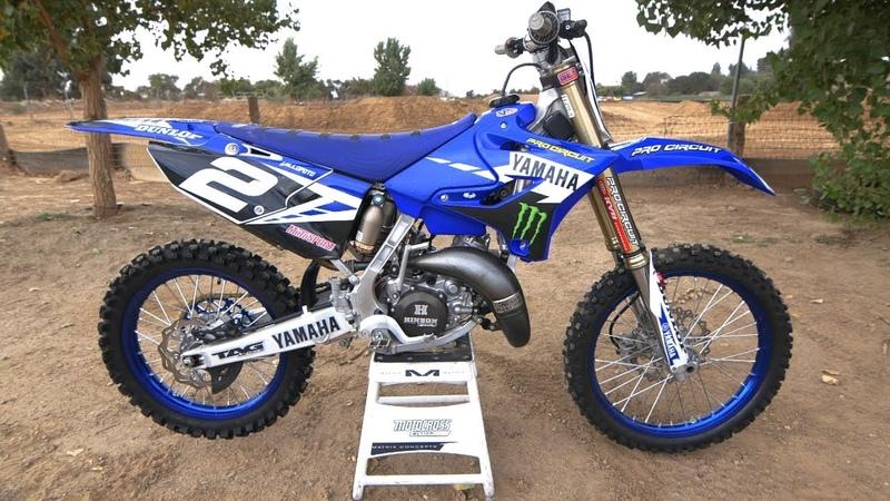 Motocross Action tests Ryan Villopoto's Yamaha YZ125 2 Stroke