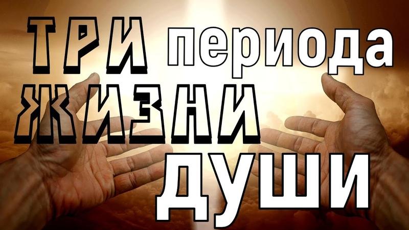 Три периода жизни души (Из писаний святых отцов)
