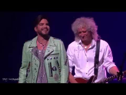 Q ueen Adam Lambert - Crazy L ittle Thing C alled Love - P ark Theater - Las Vegas - 9.8.18