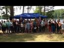 Лента за лентою, повстанська пісня, Маневицька районна організація воїнів Ато