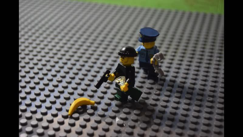 Отрывок из нашего первого Лего мультика.