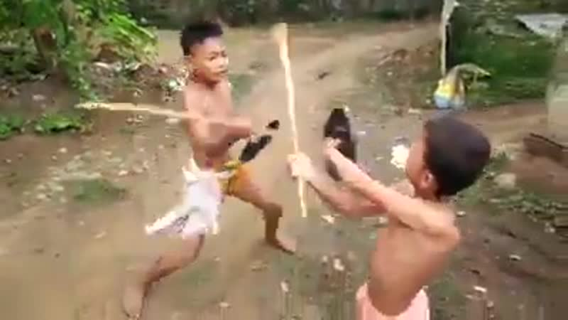 Learn From These Two Kids Playing