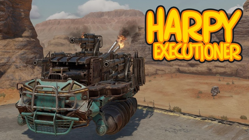 TRIPLE HARPY EXECUTIONER ONESHOTS - Crossout Gameplay