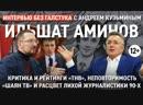 Критика ТНВ, Интернет vs ТВ, враги и работа в 90-е  Ильшат Аминов - Интервью без галстука