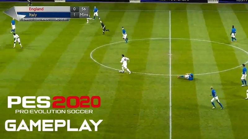 PES 2020 Gameplay Pre Calculated Unreal Engine 4