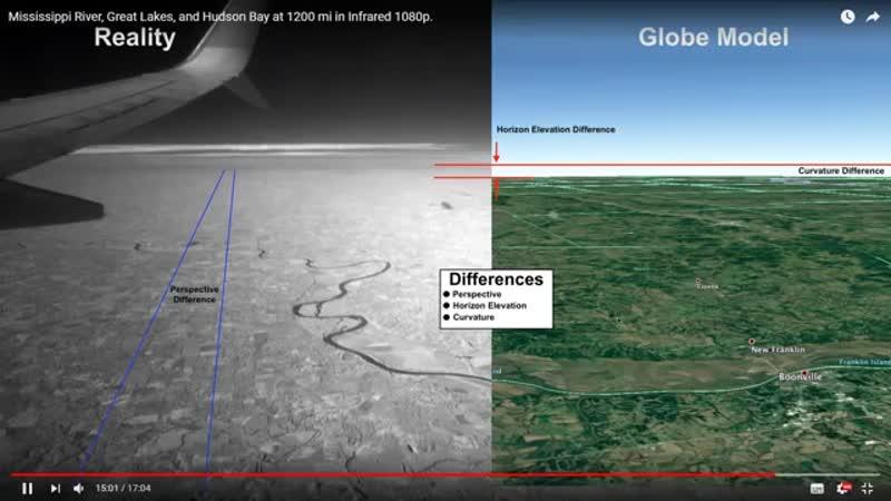 Плоская Земля СЕНСАЦИЯ БОМБА НАГЛЯДНОЕ 100% док во