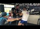 Power house arm wrestling left hand