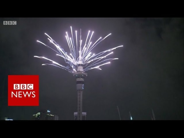 New Year Celebrations: New Zealand welcomes in 2019 - BBC News