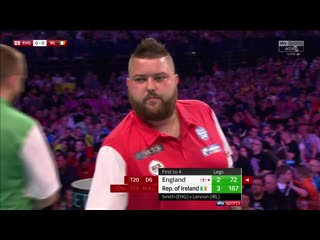 England vs Ireland (PDC World Cup of Darts 2019 / Round 2)