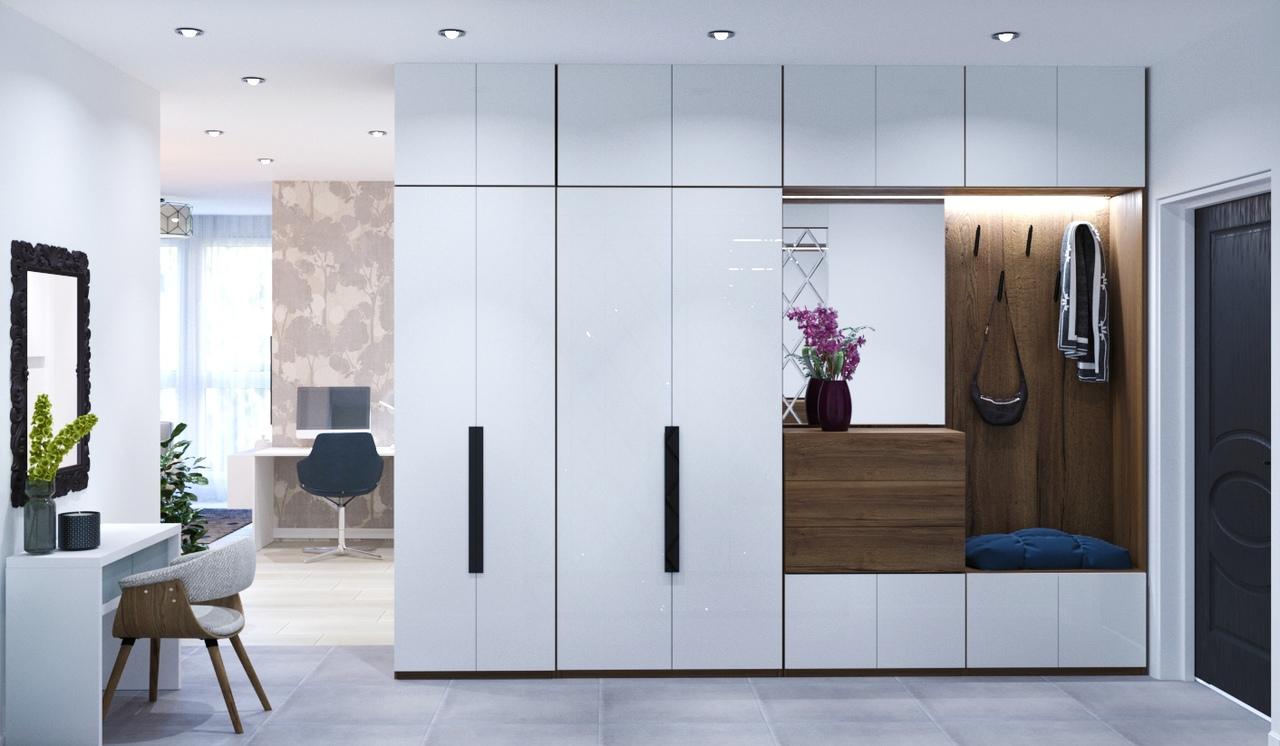 Проект квартиры площадью 47 кв.