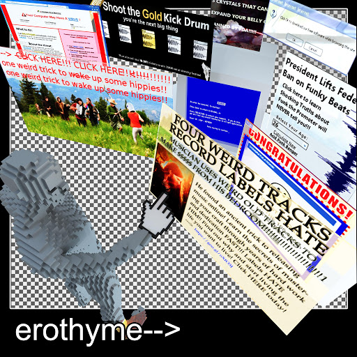 Erothyme альбом Four Weird Tracks Record Labels Hate