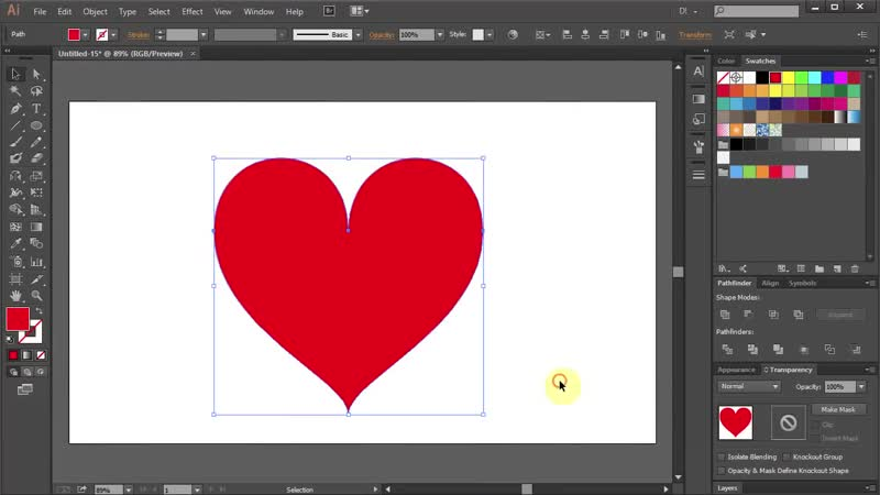 [2][192.66 F 096.33] how to draw a heart in adobe illustrator