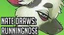 Nate Draws Runningnose