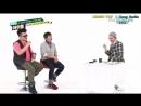 Weekly idol EP 125 G-dragon aegyo cut __ Arabic sub