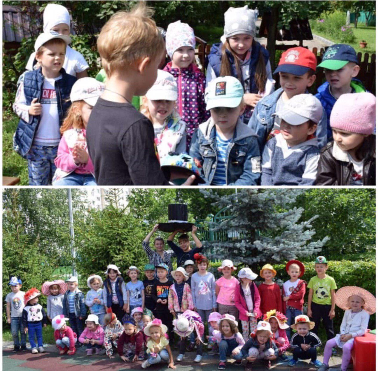 В дошкольном отделении школы № 2089 провели праздник «Все дело в шляпке»