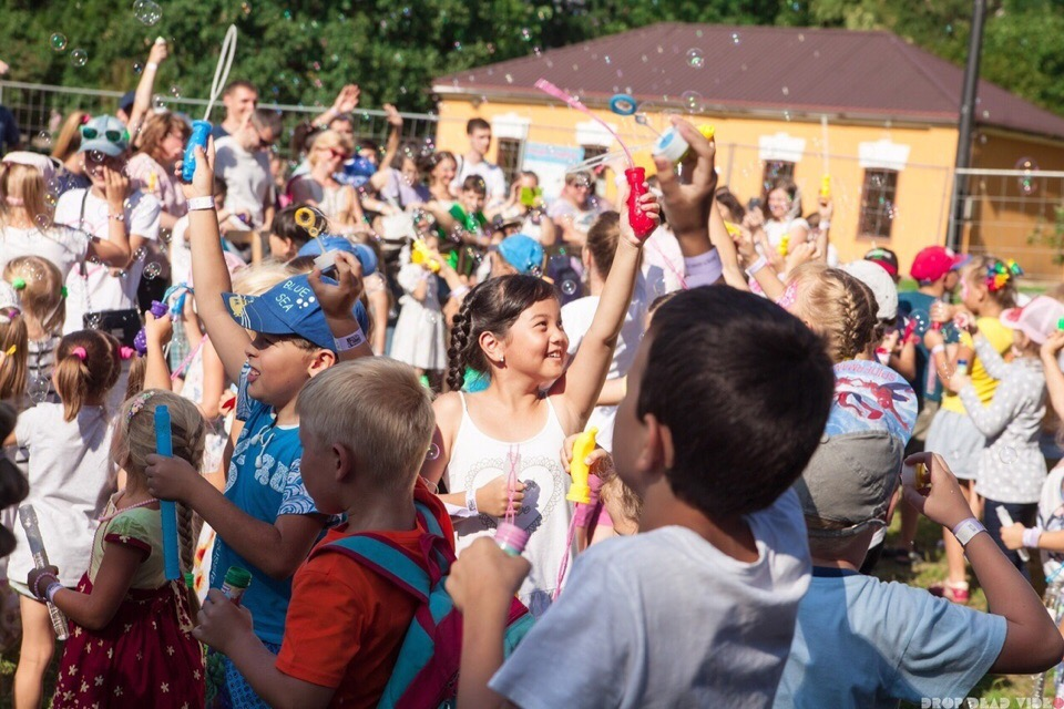 Фестиваль мыльных пузырей — добрый праздник на свежем воздухе!