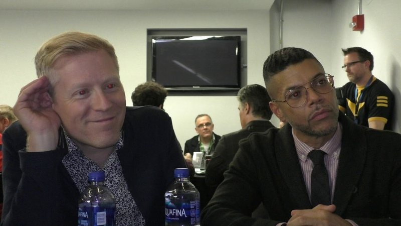 NYCC 2018 Star Trek Discovery - Anthony Rapp, Wilson Cruz