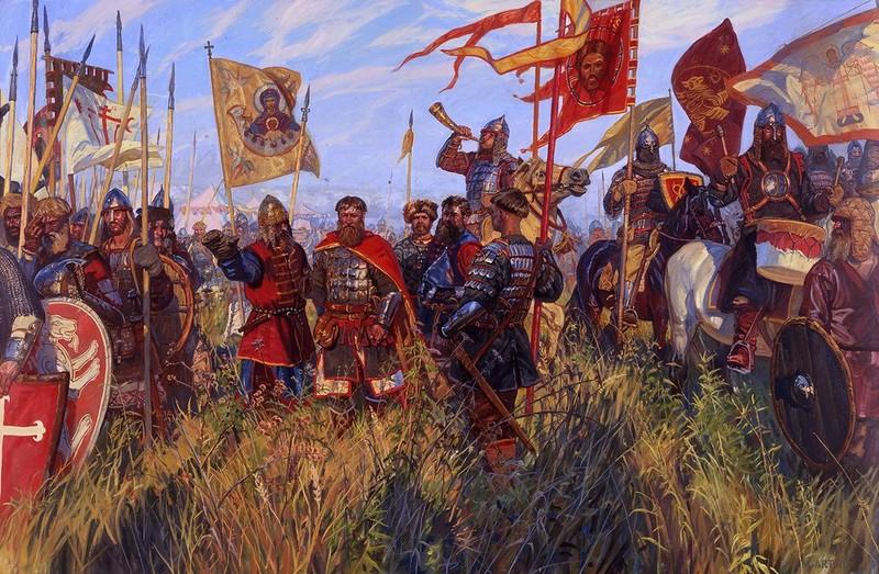 дмитрий донской войска картинки тех