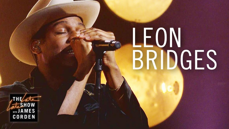 Leon Bridges - If It Feels Good (The Late Late Show with James Corden)