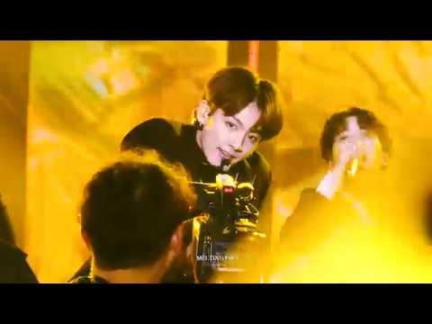 190106 골든디스크어워즈 BTS - IDOL (아이돌) / 방탄소년단 정국 직캠 JUNGKOOK focus fancam [4K]
