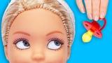 НЯНЯ ВМЕСТО МАМЫ! Мультик куклы Барби для девочек