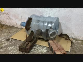 Mouse Reject-Water Bottle Mouse Trap-How to make a mouse trap homemade