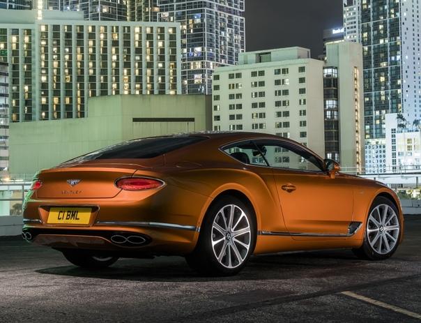 Очень редкие : Bentley Continental GT  Теперь с мотором V8