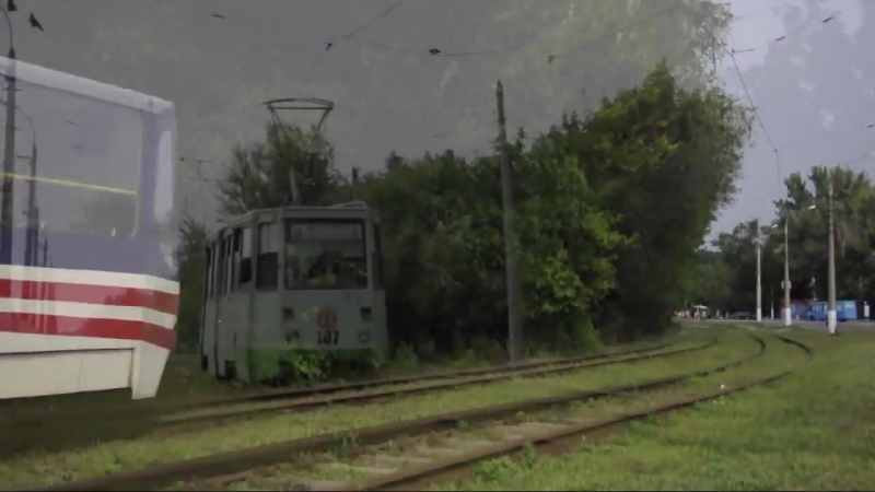 Острая Могила трамвай №6