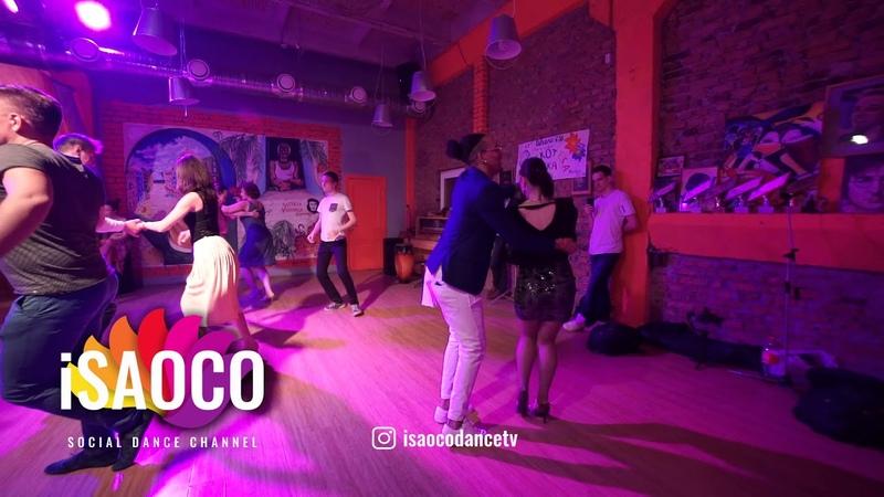 Yoanis Meneses and Olga Samoilova Salsa Dancing in Respublika Vosmera, Sunday 29.04.2018 (SC)