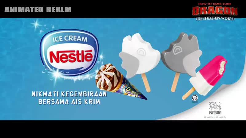 Ice Cream How To Train Your Dragon The Hidden World HTTYD