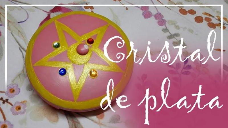 Haciendo el cristal de plata Sailor Moon
