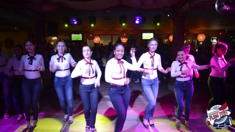 Authentic bachata Ladies bootcamp - Sueco Johanna - Dominican Flow Fest 2018 - Бачата доминикана