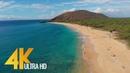 4K Drone Footage Bird's Eye View of Maui Island Hawaii 3 Hour Ambient Drone Film