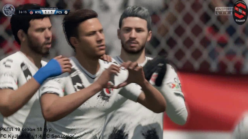 РКПЛ FC KyJle69lku 1:4 FC Sensorior