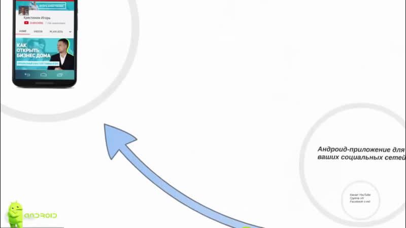 Создам Приложение Аndroid для вашего сайта, YouTube канала