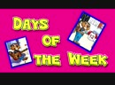 Песенка про дни недели Выучите слова про английский календарь Учите детей аутистов Детский сад