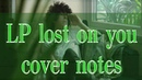 Lost on You cover notes for violin saxophone piano Lost on you ноты для скрипки саксофона фортепиано