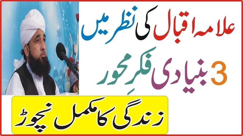 Allama Iqbal Ki Nazar Mein 3 Bunyiadi Fikar e Mehwar || Molana Raza Sqib Latest Bayan 2018