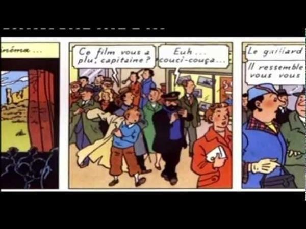 Tintin, Hergé le cinéma