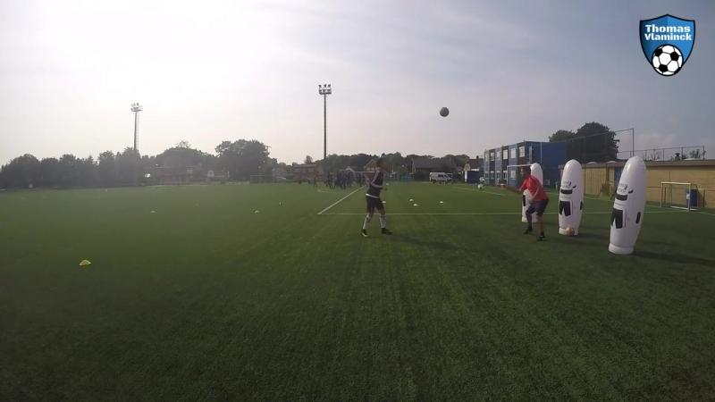 Individuele training - technisch coördinatief - passing __ Individual training