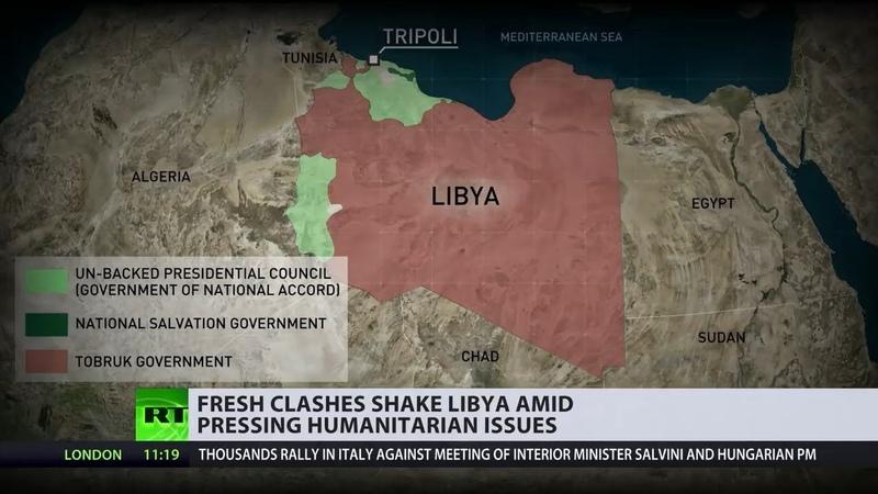 Бои в ливийском Триполи – итоги 7 лет со дня Ливийской революции и свержения Каддафи.