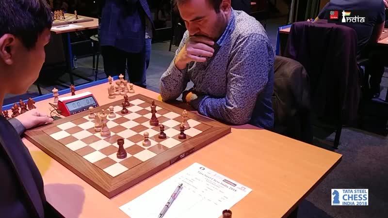 Шахрияр Мамедьяров - Уэсли СоTata Steel Chess India 2018 Blitz