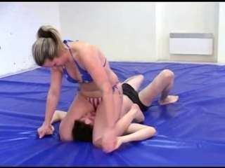 DWW 025 Antonia vs MaN - Hot Wrestling4781