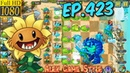 Plants vs. Zombies 2 - Hard level - Dont lose more than 5 plants - Big Wave Beach Day 28 Ep.423