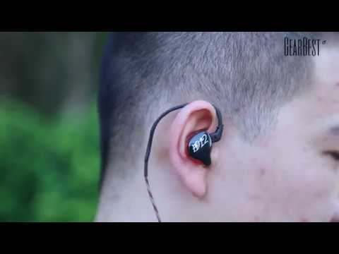 KZ ED12 HiFi Music In Ear Earphones with Mic