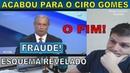 Ciro Gomes promete esquema de fraude na educação brasileira.