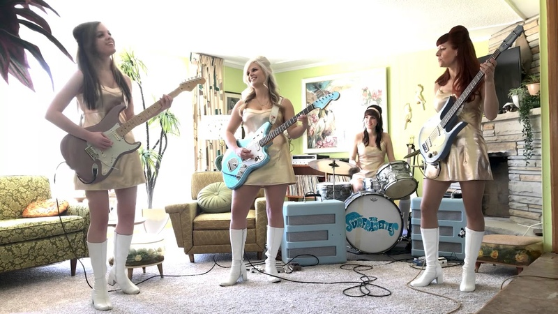 The Surfrajettes - Toxic ( Britney Spears ) Surf Cover