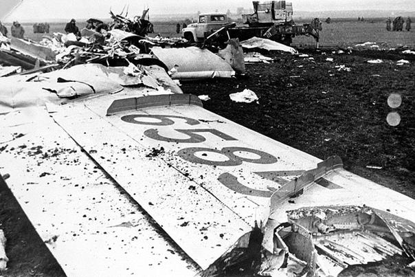 11 августа 1979 года, над Днепродзержинском столкнулись два авиалайнера Ту-134А авиакомпании «Аэрофлот», в результате чего погибли все находившиеся на них 178 человек
