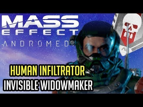 Human Male Infiltrator Platinum BUILD and GUIDE Mass Effect Andromeda Multiplayer